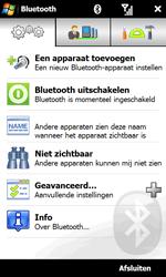 HTC T7373 Touch Pro II - bluetooth - aanzetten - stap 7