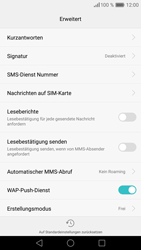 Huawei P9 Lite - SMS - Manuelle Konfiguration - Schritt 7