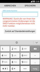Huawei Ascend G6 - SMS - Manuelle Konfiguration - Schritt 7