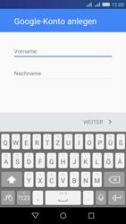 Huawei Y6 - Apps - Konto anlegen und einrichten - Schritt 4