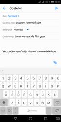 Huawei Y5 (2018) - E-mail - e-mail versturen - Stap 7
