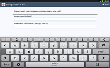 Samsung Galaxy Tab 3 10-1 LTE - E-mail - configurazione manuale - Fase 18