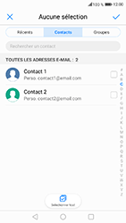 Honor 6A - E-mails - Envoyer un e-mail - Étape 7