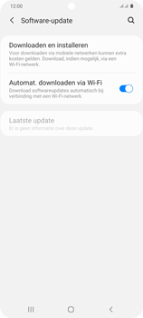 Samsung Galaxy S20 Plus 5G Dual SIM eSIM SM-G986B - Software updaten - Update installeren - Stap 5