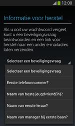 Samsung Galaxy S3 Mini Lite - apps - account instellen - stap 14