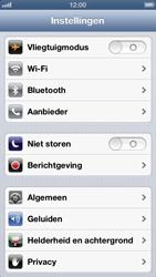 Apple iPhone 5 - Netwerk - Handmatig een netwerk selecteren - Stap 3
