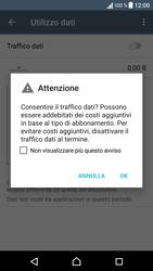 Sony Xperia XA - Internet e roaming dati - Come verificare se la connessione dati è abilitata - Fase 6