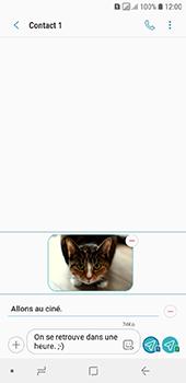 Samsung Galaxy A6 - Contact, Appels, SMS/MMS - Envoyer un MMS - Étape 20