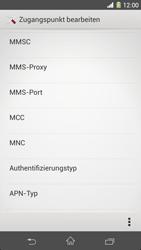 Sony Xperia Z1 - MMS - Manuelle Konfiguration - Schritt 15