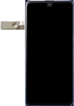 Samsung Galaxy A41 - Premiers pas - Insérer la carte SIM - Étape 2