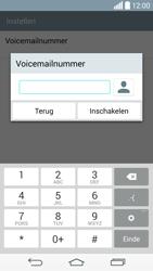 LG G3 (D855) - Voicemail - Handmatig instellen - Stap 8