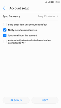 Huawei Mate 9 Pro - Email - 032c. Email wizard - Outlook - Step 8