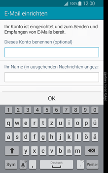 Samsung Galaxy Note Edge - E-Mail - Manuelle Konfiguration - Schritt 18