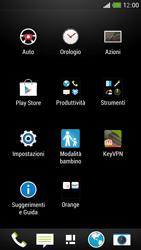 HTC One Mini - Dispositivo - Ripristino delle impostazioni originali - Fase 4