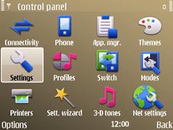 Nokia E72 - Internet - Manual configuration - Step 4