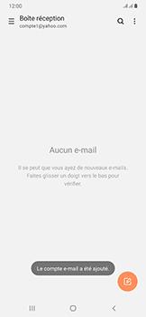 Samsung Galaxy A50 - E-mail - 032b. Email wizard - Yahoo - Étape 10