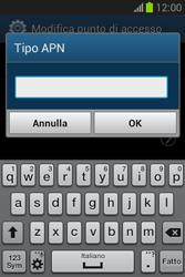 Samsung Galaxy Fame Lite - Internet e roaming dati - Configurazione manuale - Fase 14