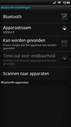 Sony LT22i Xperia P - Bluetooth - koppelen met ander apparaat - Stap 9