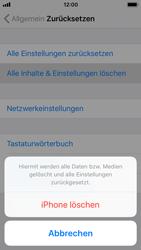 Apple iPhone 5s - iOS 11 - Gerät - Zurücksetzen auf die Werkseinstellungen - Schritt 6