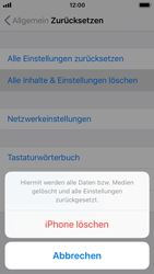 Apple iPhone SE - iOS 11 - Fehlerbehebung - Handy zurücksetzen - Schritt 8