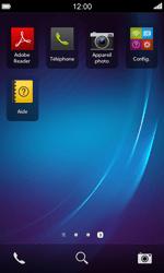 BlackBerry Z10 - E-mails - Ajouter ou modifier un compte e-mail - Étape 3