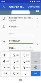 Crosscall Core M4 - Contact, Appels, SMS/MMS - Ajouter un contact - Étape 7