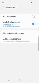 Samsung Galaxy S10e - Instellingen -