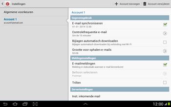 Samsung P7500 Galaxy Tab 10-1 - E-mail - Instellingen KPNMail controleren - Stap 7