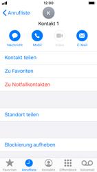 Apple iPhone SE - iOS 13 - Anrufe - Anrufe blockieren - Schritt 7