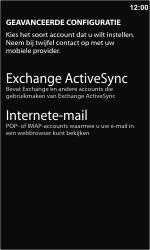 Nokia Lumia 900 - e-mail - handmatig instellen - stap 8