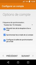 Acer Liquid Z320 - E-mail - configuration manuelle - Étape 18