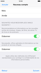 Apple iPhone 7 - Applications - Créer un compte - Étape 17