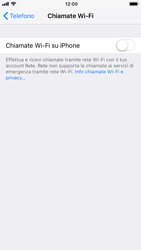 Apple iPhone 8 - iOS 12 - WiFi - Attivare WiFi Calling - Fase 6