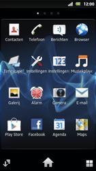 Sony MT27i Xperia Sola - e-mail - hoe te versturen - stap 3