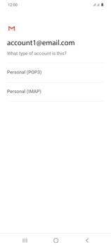 Samsung Galaxy S20 Plus 5G - E-mail - manual configuration - Step 11