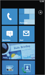 Samsung I8350 Omnia W - SMS - handmatig instellen - Stap 1