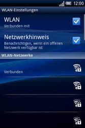Sony Ericsson Xperia X8 - WLAN - Manuelle Konfiguration - 9 / 10