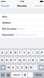 Apple iPhone 5s (iOS 8) - E-mails - Ajouter ou modifier un compte e-mail - Étape 8