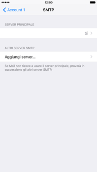 Apple iPhone 6 Plus iOS 9 - E-mail - configurazione manuale - Fase 20