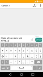 LG G5 - Contact, Appels, SMS/MMS - Envoyer un SMS - Étape 8