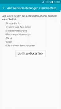 Samsung Galaxy S6 edge+ (G928F) - Gerät - Zurücksetzen auf die Werkseinstellungen - Schritt 6