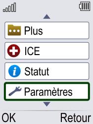 Doro Phone Easy 621 - Sécuriser votre mobile - Activer le code de verrouillage - Étape 3