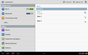 Samsung Galaxy Tab 2 10.1 - WiFi - Configurazione WiFi - Fase 7