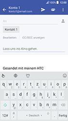 HTC U Play - E-Mail - E-Mail versenden - Schritt 9