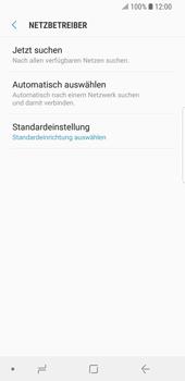Samsung Galaxy S9 - Netzwerk - Manuelle Netzwerkwahl - Schritt 7