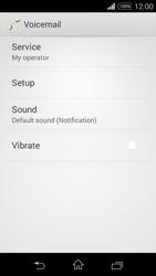 Sony D2203 Xperia E3 - Voicemail - Manual configuration - Step 6