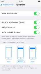 Apple iPhone 6 iOS 10 - iOS features - Customise notifications - Step 9