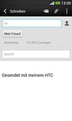 HTC Desire 500 - E-Mail - E-Mail versenden - Schritt 8