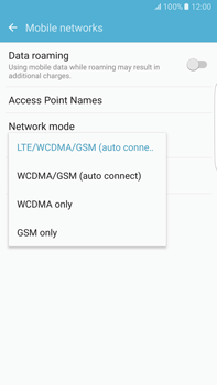 Samsung Samsung G928 Galaxy S6 Edge + (Android M) - Network - Change networkmode - Step 7