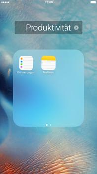 Apple iPhone 6 Plus iOS 9 - Startanleitung - Personalisieren der Startseite - Schritt 7